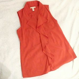 Banana Republic Ruffle Tank